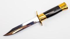 Нож НР-40 генеральский, полированный