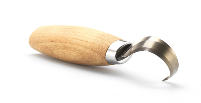 Фото 2 - Нож Morakniv Hook Knife 164 Left Hand ложкорез, 13443