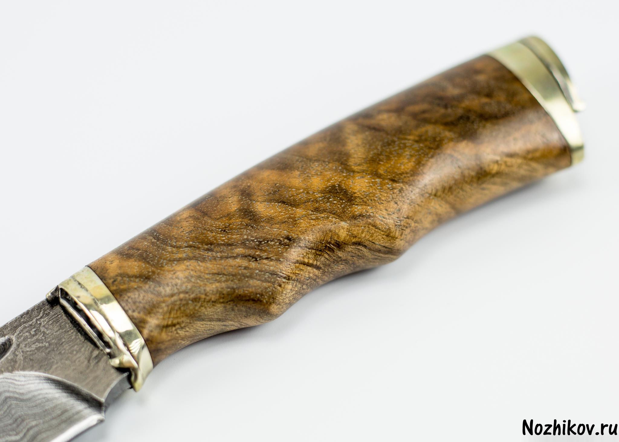 Фото 9 - Авторский Нож из Дамаска №32, Кизляр от Noname
