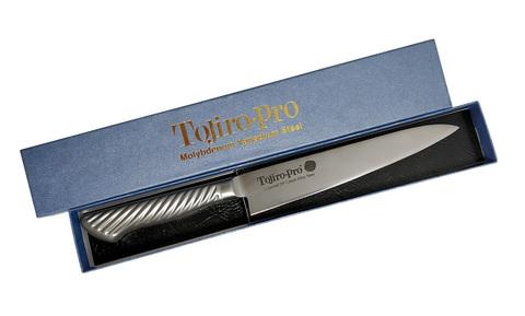 Нож Универсальный Tojiro PRO F-884, сталь VG-10, серый. Вид 2