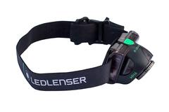 Фонарь светодиодный налобный LED Lenser MH6, черный, 200 лм, аккумулятор, фото 7
