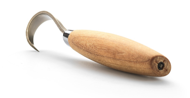 Фото 4 - Нож Morakniv Hook Knife 164 Left Hand ложкорез, 13443