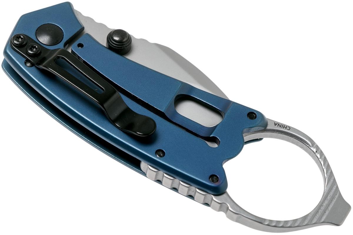 Фото 8 - Нож складной Antic - Kershaw 8710, сталь 8Cr13MoV, рукоять нержавеющая сталь, синий
