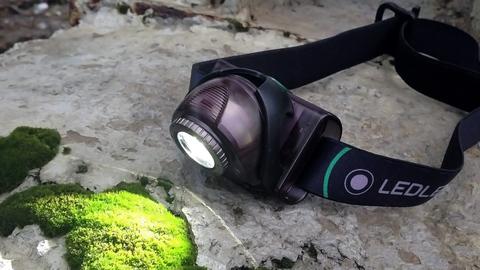 Фонарь светодиодный налобный LED Lenser MH6, черный, 200 лм, аккумулятор. Вид 10