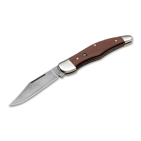 Нож складной 20-20 Pflaumenholz Boker, сталь С75. Вид 1