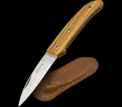Фото 6 - Нож складной Massimo Fantoni Design, Dweller, FAN/DWELLER/ОL, сталь 19C27, рукоять Оlive Wood