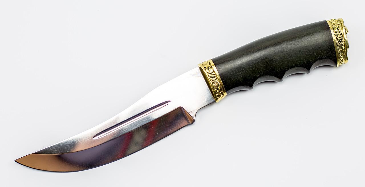 Фото 7 - Нож Чёрная пантера от Павловские ножи