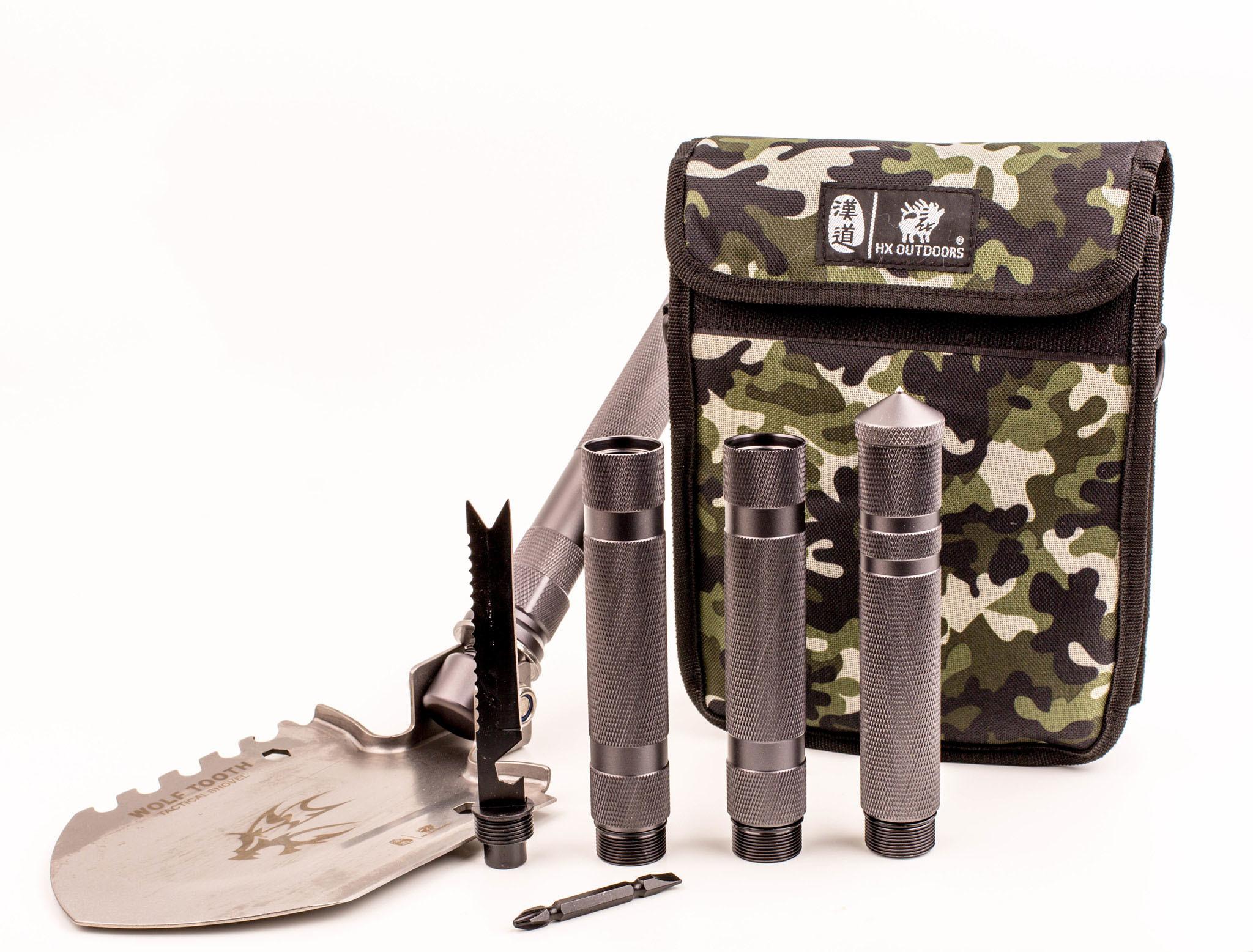 Фото - Многофункциональная лопата для выживания HX Outdoor 19-в-1 многофункциональная лопата для выживания 10 в 1