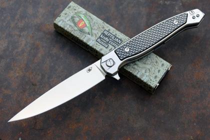 Складной нож Сарган, сталь D2, вставка черный карбон складной нож sidus сталь d2 светящийся карбон