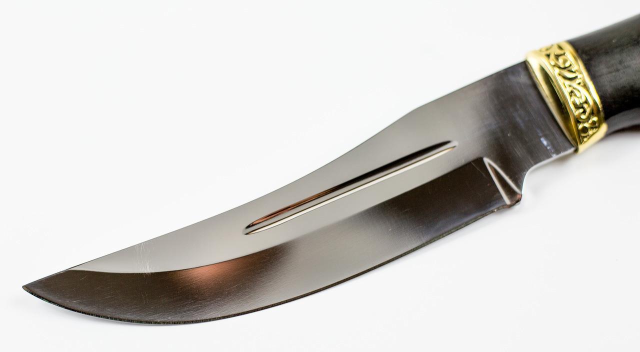 Фото 9 - Нож Чёрная пантера от Павловские ножи