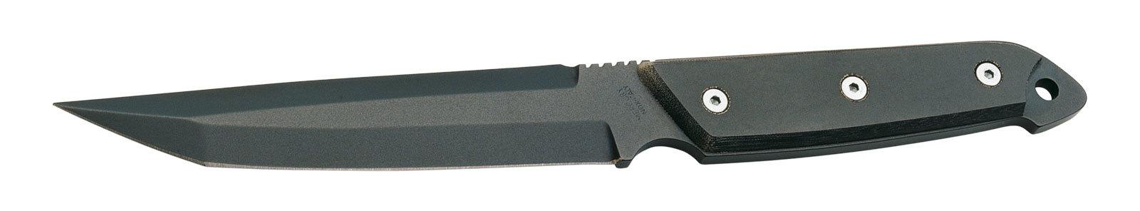 Фото 5 - Нож с фиксированным клинком Mercury Combat TEFLON® MY\9221-22T, сталь Z50CD15 тефлон, черная микарта