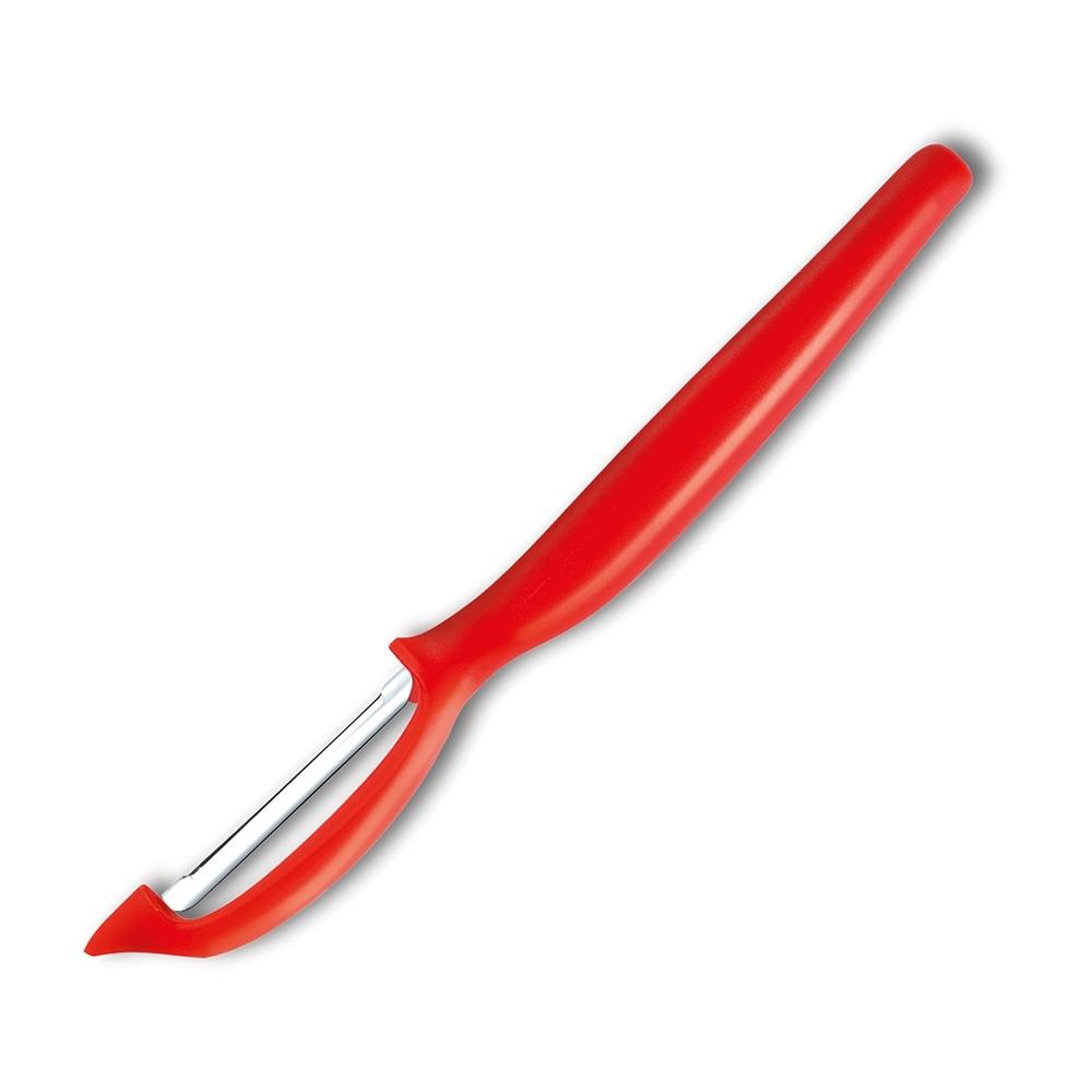 Нож для чистки овощей и фруктов Sharp Fresh Colourful 3071r-7, красный