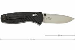 Полуавтоматический нож Barrage mini 585, сталь 154СМ, рукоять пластик, фото 7