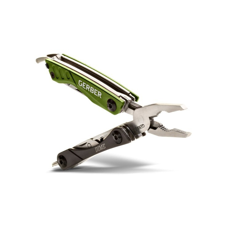 Мультитул Outdoor Dime Micro Tool, зеленый, Gerber мультитул gerber center drive multi tool