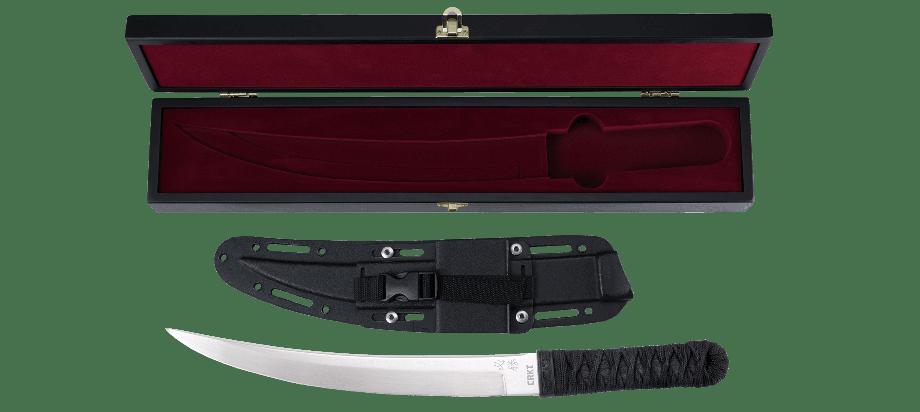 Фото 18 - Нож с фиксированным клинком CRKT Hisshou, сталь YK-30, рукоять паракорд