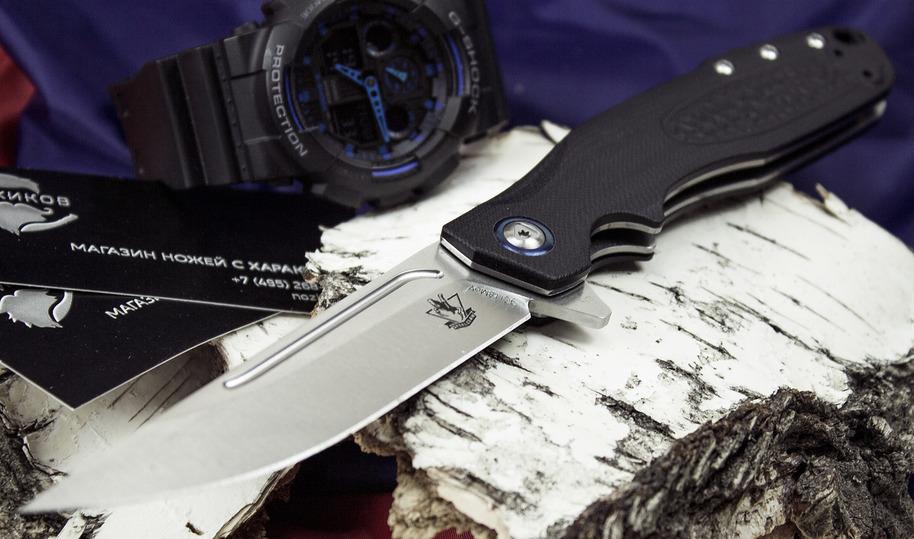 Фото 5 - Складной нож Джин, черный от Steelclaw