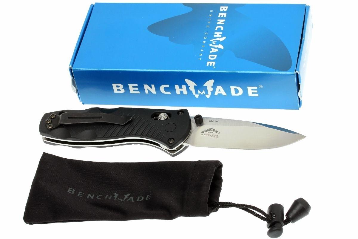 Фото 8 - Полуавтоматический нож Barrage mini 585, сталь 154СМ, рукоять пластик от Benchmade