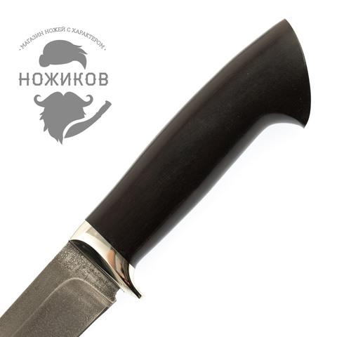 Нож Мангуст-2, сталь ХВ5, граб. Вид 3