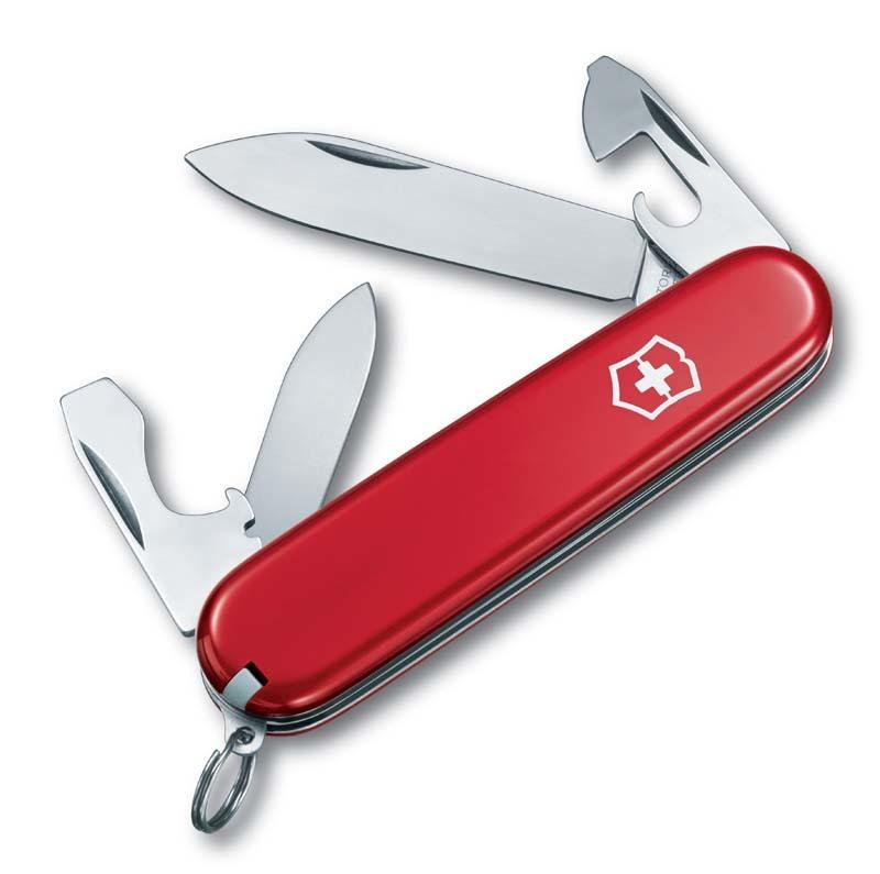Нож перочинный Victorinox Recruit 0.2503 10 функций 84мм красный