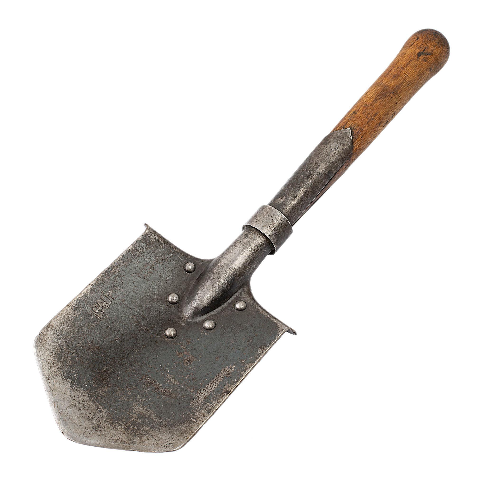 Историческая саперная лопатка Коминтерн, 1935г-1941г.