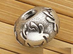 Декоративная бусина для ножа Pewter Round Lanyard Bead (олово) BEAD2