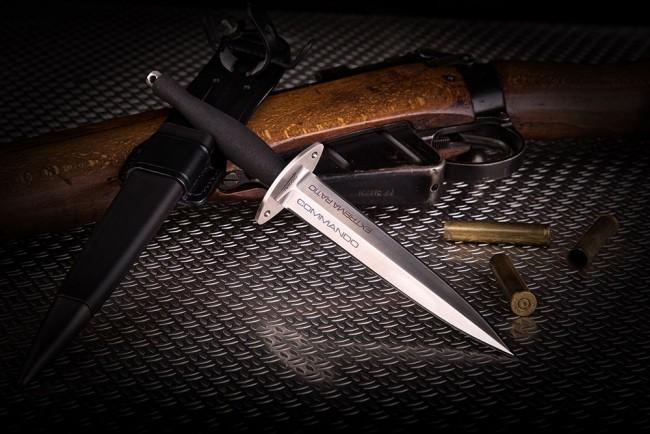 Фото 4 - Нож с фиксированным клинком Extrema Ratio E.R. Commando Satin, сталь Bhler N690, рукоять алюминий