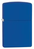 Зажигалка ZIPPO Classic с покрытием Royal Blue Matte - купить в интернет магазине