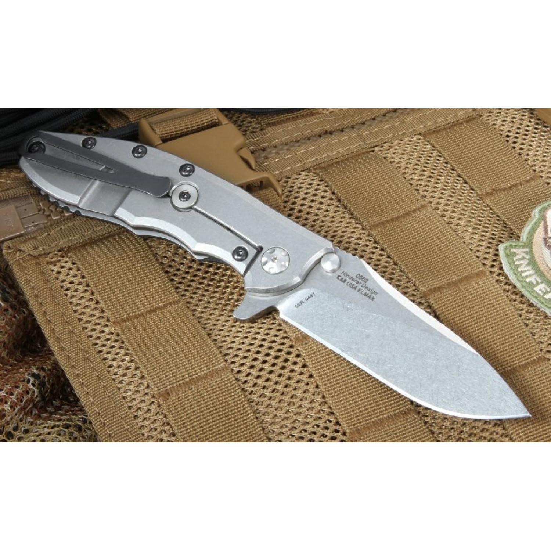 Фото 9 - Складной нож Zero Tolerance 0562, сталь ELMAX, рукоять G10/титан