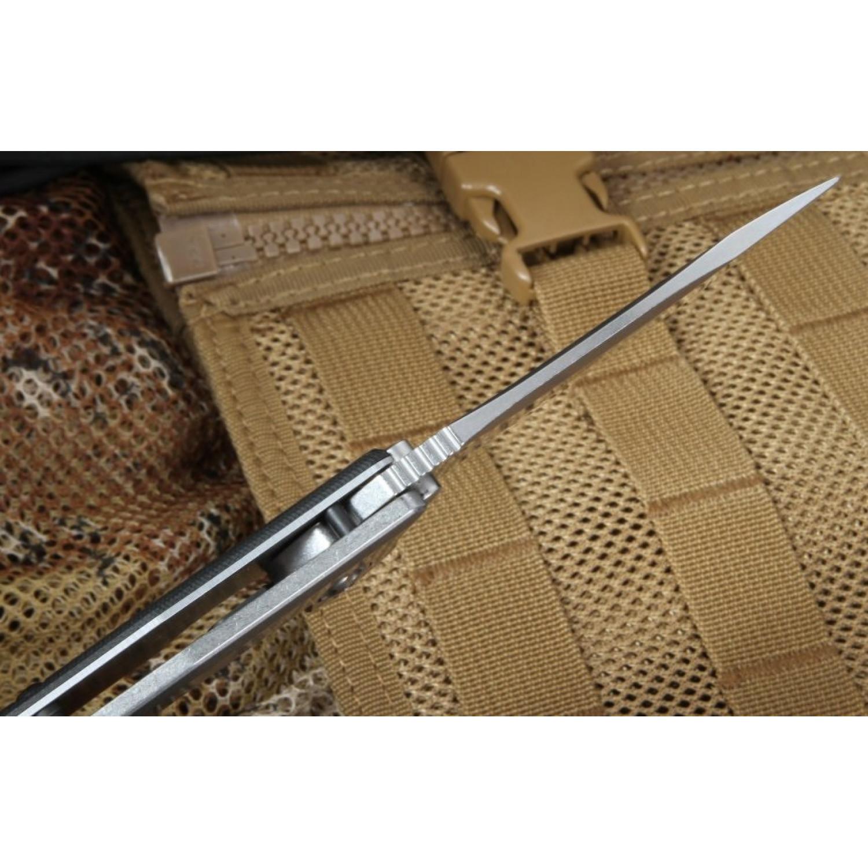 Фото 10 - Складной нож Zero Tolerance 0562, сталь ELMAX, рукоять G10/титан