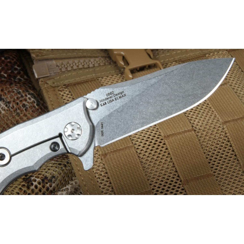 Фото 11 - Складной нож Zero Tolerance 0562, сталь ELMAX, рукоять G10/титан