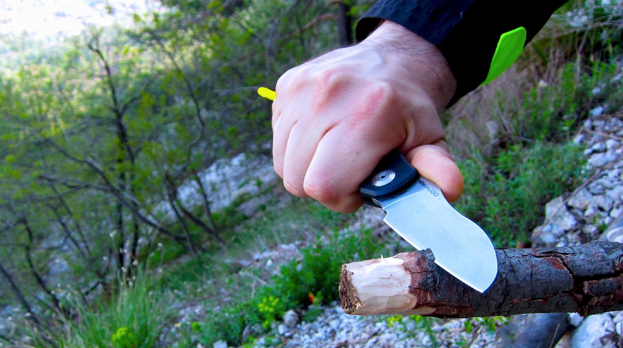Фото 13 - Нож складной Fantoni, Raggio, FAN/NilteRAGGIO, сталь Sandvik 14C28N, рукоять Ixef, чёрный