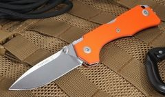 Нож складной Hide Folder, Limited Orange G-10 Handle, Crucible CPM® S30V™ , Tommaso Rumici Design 7.5 см.